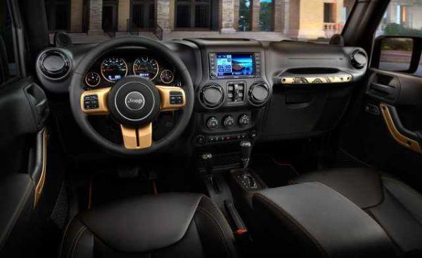 Jeep Renegade 2017- Interior