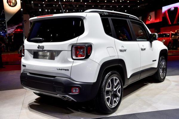 Jeep Renegade 2017- Rear View
