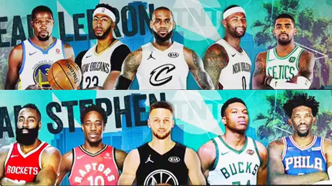nba all star game 2018 roster