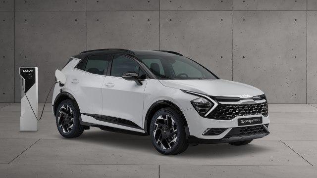 New 2022 Kia Sportage Hybrid SUV Battery Range, Interior