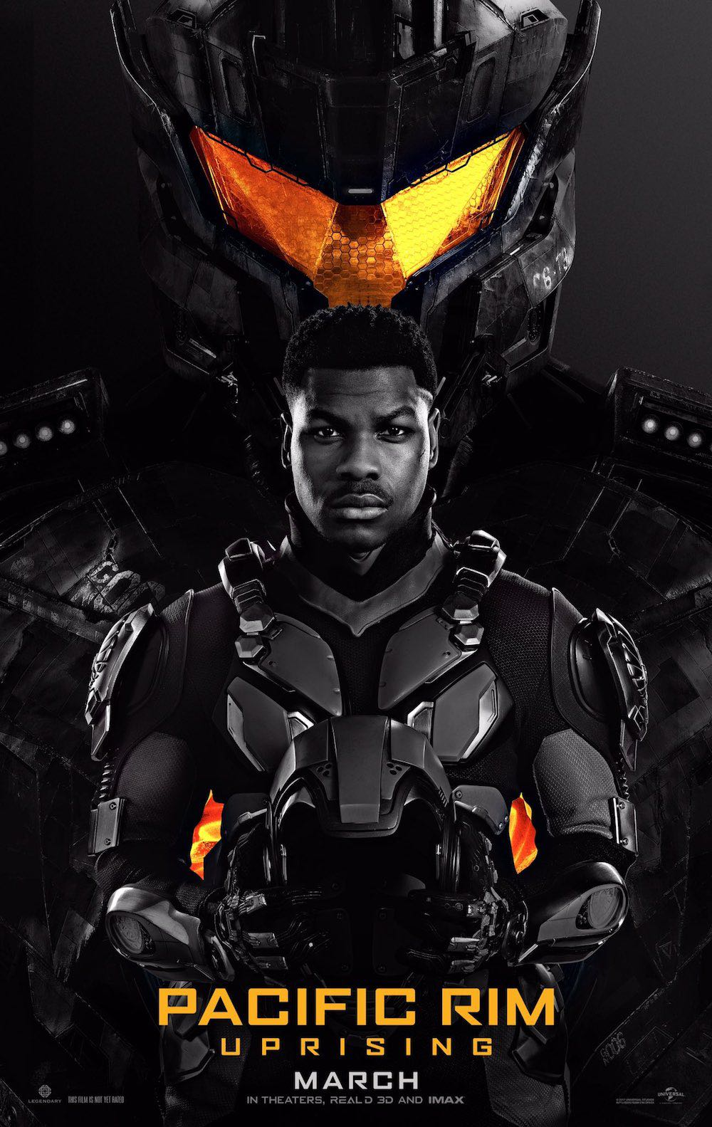 Pacific Rim Uprising Official Poster