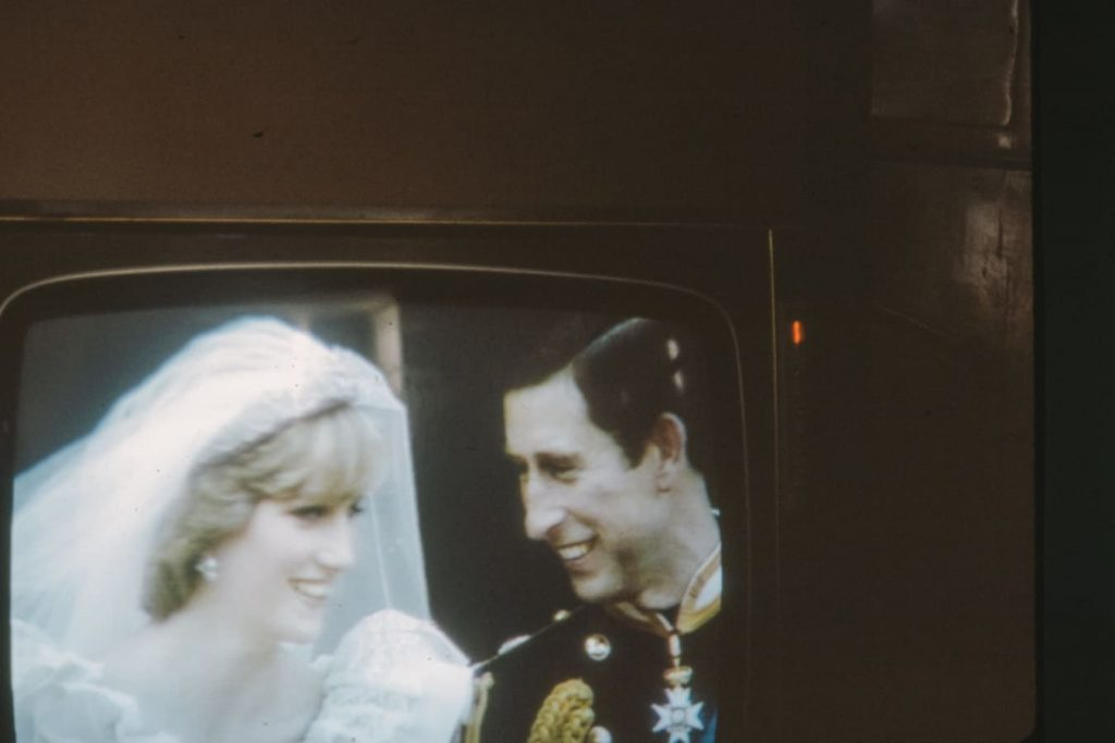 Marriage of Prince Charles to Diana Spencer aka Princess Diana