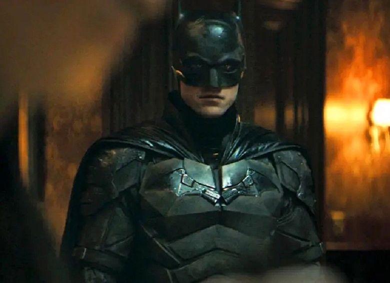 The Batman 2022 movie Robert Pattinson as Batman