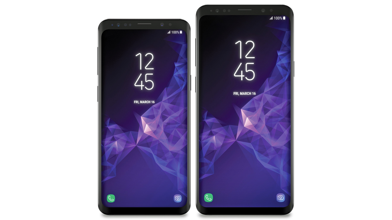 Samsung-Galaxy-S9-and-S9-plus-720 Front View