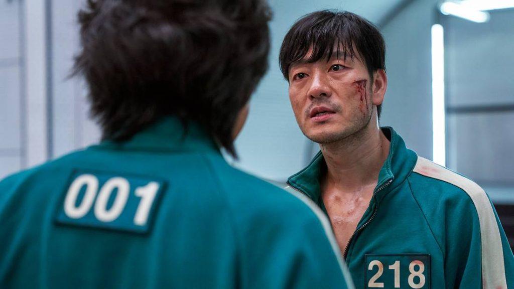 Netflix Squid Game_Park Hae-soo as Cho Sang-woo