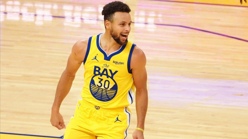 Steph Curry the Golden State Warriors NBA player
