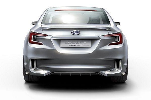 Subaru Legacy 2016 - Rear View