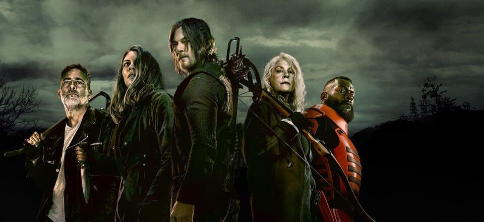 The Walking Dead season 11 Cast Poster