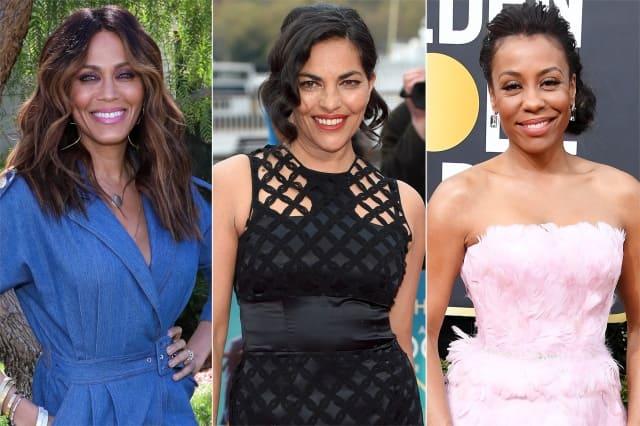 and just like that-cast_Nicole Ari Parker, Sarita Choudhury, Karen Pittman