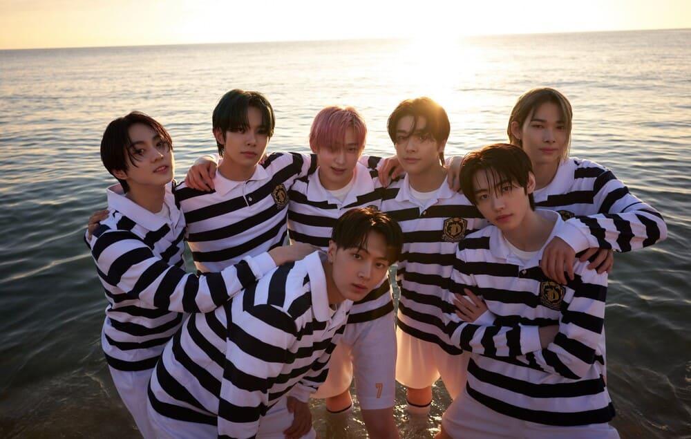 ENHYPEN K-Pop Band Jungwon, Heeseung, Jay, Jake, Sunghoon, Sunoo, and Ni-ki