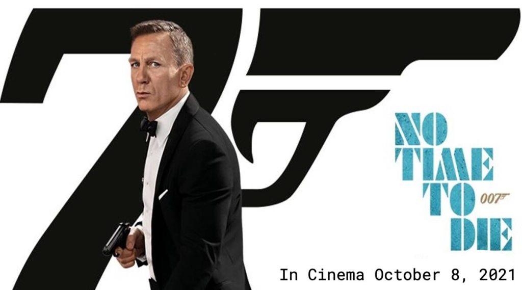James Bond movie No Time To Die poster