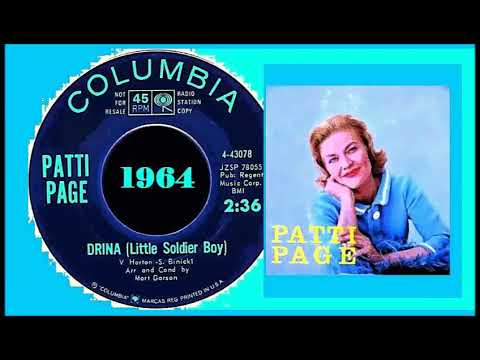 Patti Page - Drina (Little Soldier Boy) Song photo