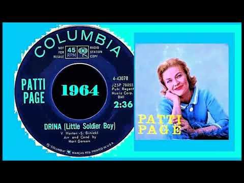 Patti Page – Drina (Little Soldier Boy) Lyrics
