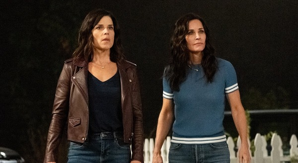 Neve Campbell as Sidney Prescott Courteney Cox as Gale Weathers Scream 5