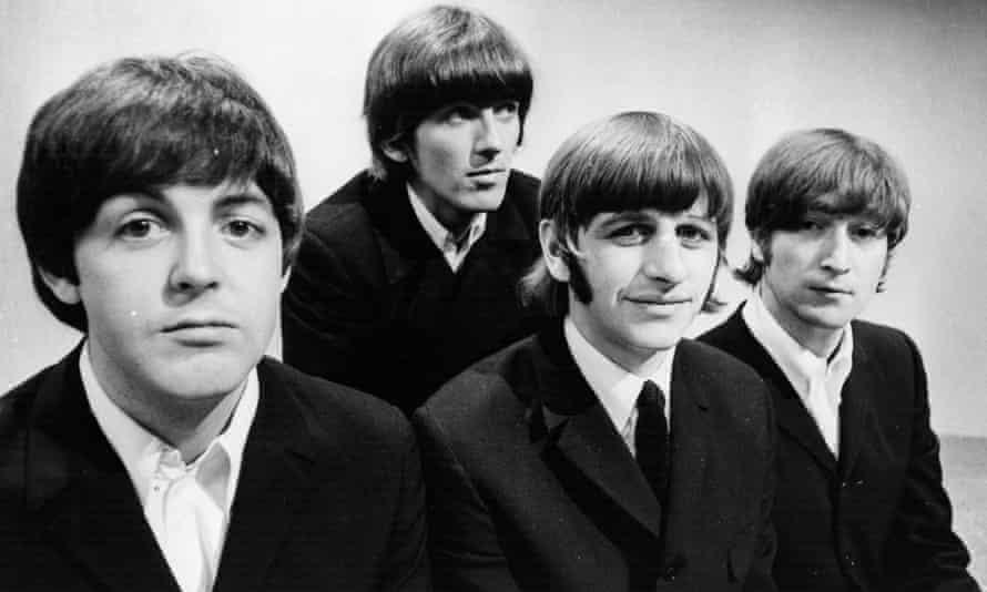 the Beatles John Lennon, Paul McCartney, George Harrison and Ringo Starr