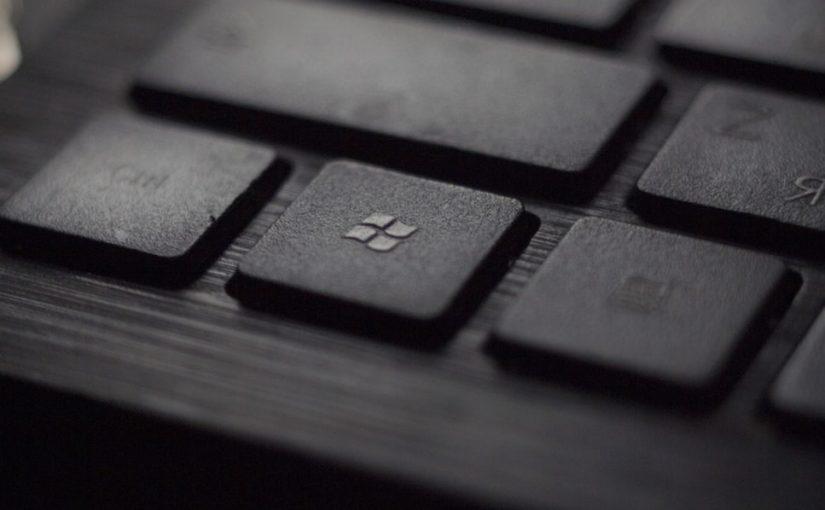 windows-keyboard black color